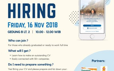Campus Hiring – Universitas Borobudur in collaboration with Nusatalent