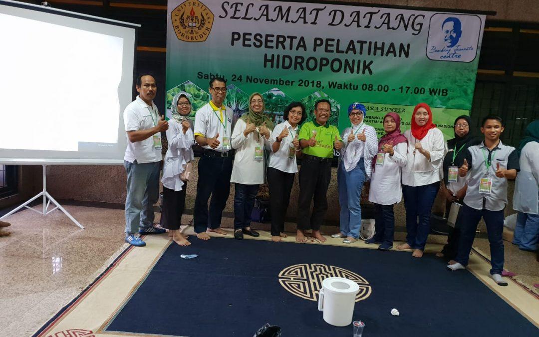 Pelatihan Hidroponik Bersama Bambang Jasnanto (BJ Centre)