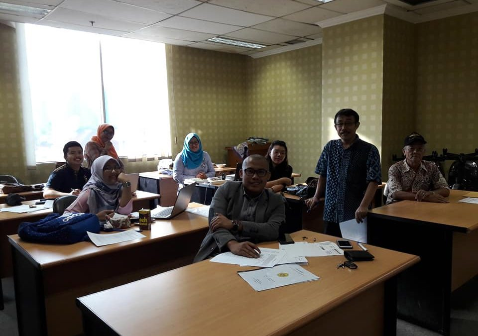 Pelaksanaan ujian Mahasiswa S2 dan S3 Universitas Borobudur