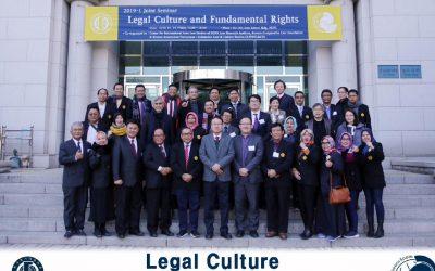 Mahasiswa Doktor Hukum (S3) Mengikuti Joint Seminar di Hankuk University Korea Selatan