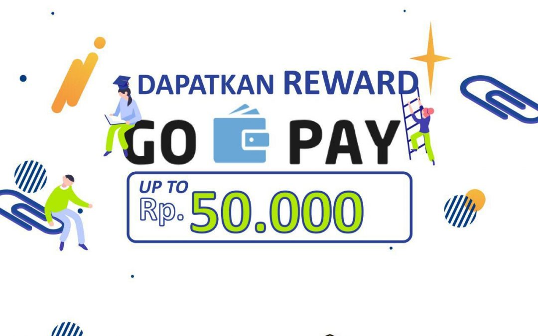 Dapatkan Reward Go-Pay Up to Rp.50.000 dari Pintek