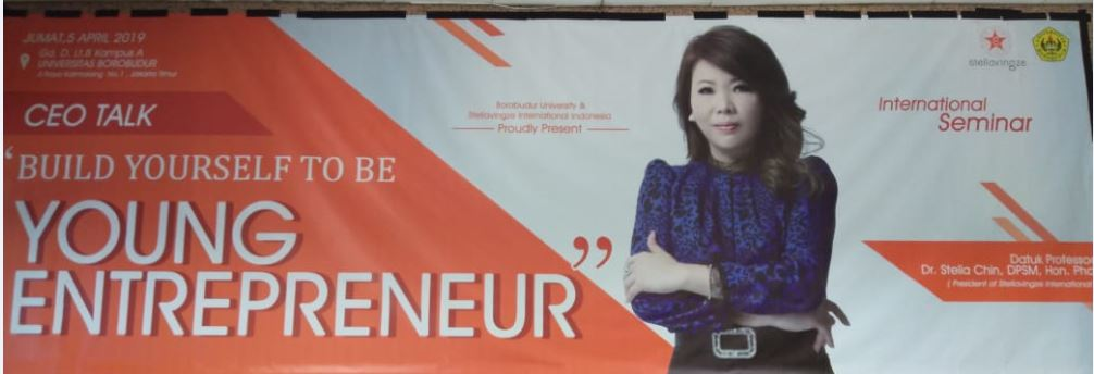 "Undangan Seminar ""Ceo Talk: Build Yourself To Be Young Entrepreneur"""
