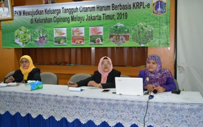 PKM Universitas Borobudur Gelar Pelatihan bagi Warga Cipinang Melayu