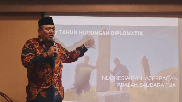"""Seminar """"Sejarah Azerbaijan dan Hubungan Diplomatik Indonesia – Azerbaijan"""""""