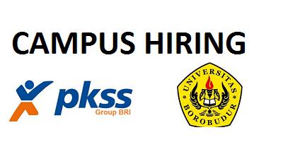 "Campus Hiring ""PKSS [HR Solution Provider] & Member of BRI Group"""