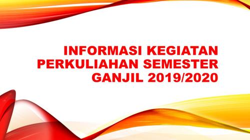 Informasi Kegiatan Perkuliahan Mahasiswa Baru Universitas Borobudur
