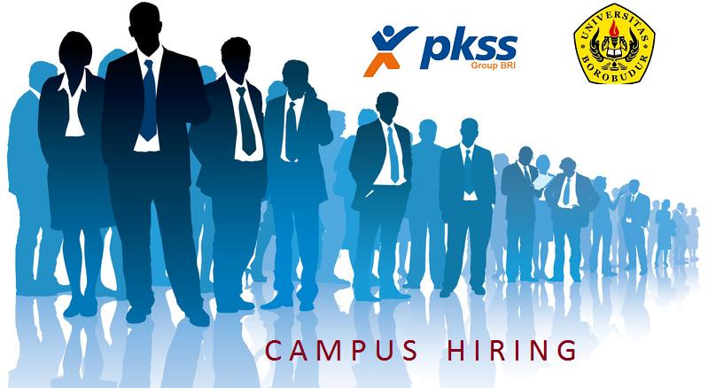 """Campus Hiring """"PKSS  & Universitas Borobudur"""""""