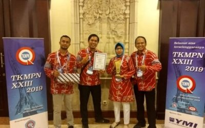 Prestasi Alumni Fakultas Teknik Mendapat Diamond Dalam kategori The Best Performance di TKMP XXIII di Solo