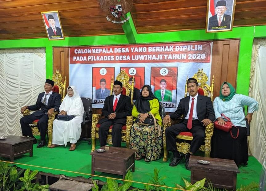 """ Selamat dan Sukses "", Dari Universitas Borobudur Jakarta Atas Terpilihnya Kepala Desa Luwihaji yang Baru"